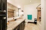 Tuscan Villa bathroom with tub