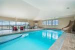 Tuscan Villa indoor swimming pool