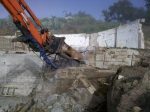 demolishing a home